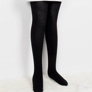Comfortable Stretchy Full-length Footed Knitted Tights